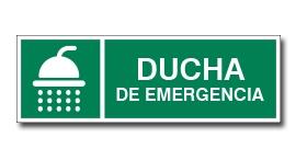 DUCHA DE EMERGENCIA