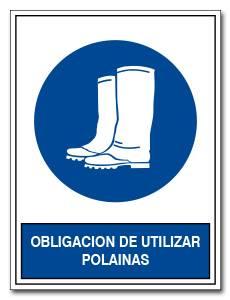OBLIGACION DE UTILIZAR POLAINAS