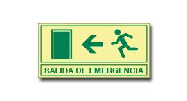 SALIDA DE EMERGENCIA (FOTOLUMINISCENTE)