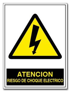 RIESGO DE CHOQUE ELECTRICO