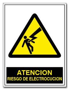ATENCION RIESGO DE ELECTROCUCION