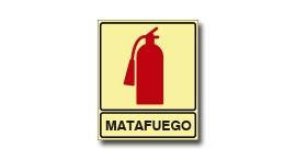 MATAFUEGO FOTOLUMINISCENTE