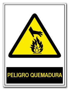 PELIGRO QUEMADURA
