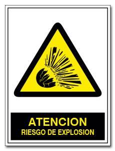 ATENCION RIESGO DE EXPLOSION