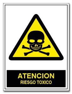 ATENCION RIESGO TOXICO