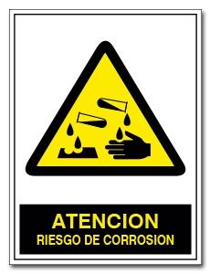 ATENCION RIESGO DE CORROSION