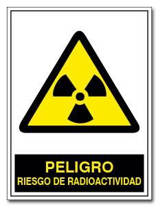 ATENCION RIESGO DE RADIOACTIVIDAD