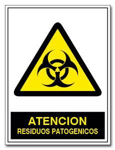 ATENCION RESIDUOS PATOGENICOS