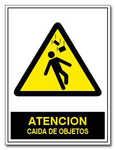 ATENCION CAIDA DE OBJETOS