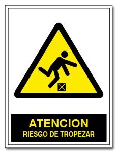 ATENCION RIESGO DE TROPEZAR