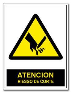 ATENCION RIESGO DE CORTE
