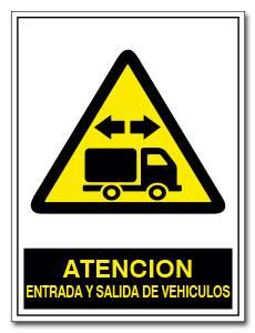 ATENCION ENTRADA Y SALIDA DE VEHICULOS