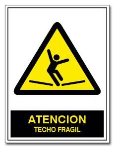 ATENCION TECHO FRAGIL