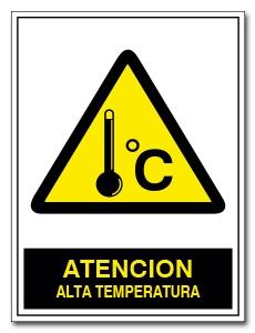 ATENCION ALTA TEMPERATURA