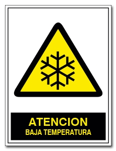 ATENCION BAJA TEMPERATURA