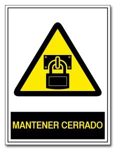 MANTENER CERRADO