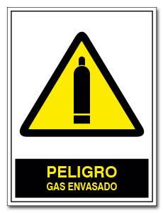 PELIGRO GAS ENVASADO