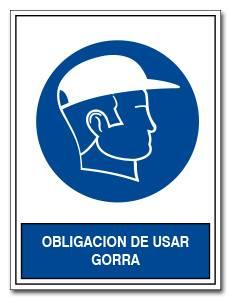 OBLIGACION DE USAR GORRA