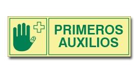 PRIMEROS AUXILIOS (FOTOLUMINISCENTE)