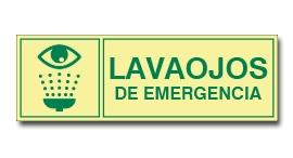 LAVADO DE OJOS DE EMERGENCIA (FOTOLUMINISCENTE)