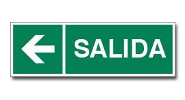 SALIDA CON FLECHA