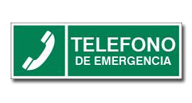 TELEFONO DE EMERGENCIA