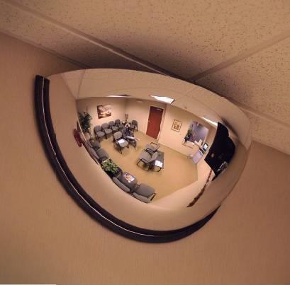 Espejo Convexo Visión 180 grados Diámetro 80 y 100 Cm