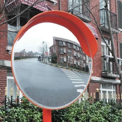 Espejo de Seguridad para Caño con Visera Diámetro 60, 80 y 100 Cm