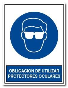 OBLIGACION DE UTILIZAR PROTECTORES OCULARES