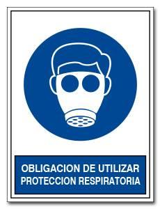 OBLIGACION DE UTILIZAR PROTECTOR RESPIRATORIO