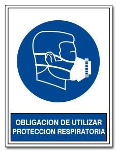 OBLIGACION DE UTILIZAR PROTECCION RESPIRATORIA