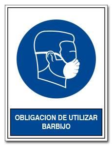 OBLIGACION DE UTILIZAR BARBIJO