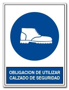 OBLIGACION DE UTILIZAR CALZADO DE SEGURIDAD