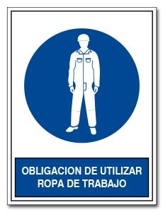 OBLIGACION DE UTILIZAR ROPA DE TRABAJO