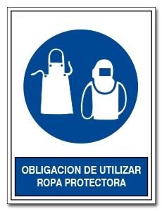 OBLIGACION DE UTILIZAR ROPA PROTECTORA