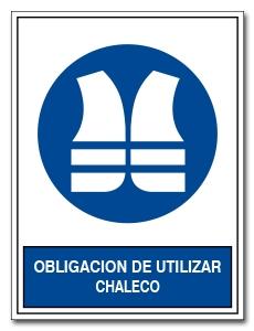 OBLIGACION DE UTILIZAR CHALECO