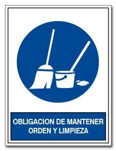 obligacion de mantener orden y limpieza