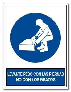 LEVANTE PESO CON LAS PIERNAS NO CON LOS BRAZOS