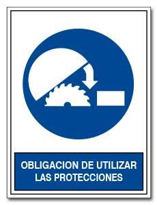 OBLIGACION DE UTILIZAR LAS PROTECCIONES