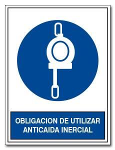 OBLIGACION DE UTILIZAR ANTICAIDA INERCIAL