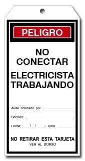 TARJETA NO CONECTAR ELECTRICISTA TRABAJANDO