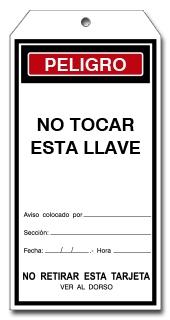 TARJETA NO TOCAR ESTA LLAVE